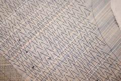Λεπτομέρεια του ραψίματος μαξιλαριών Στοκ Εικόνα