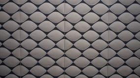 Λεπτομέρεια του σχεδίου κεραμιδιών τουβλότοιχος ή πατωμάτων Στοκ Φωτογραφία