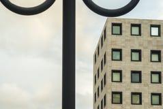 Λεπτομέρεια του σύγχρονου κτηρίου Στοκ Φωτογραφία