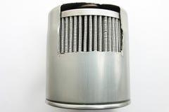 Λεπτομέρεια του φίλτρου καυσίμων για το αυτοκίνητο μηχανών στοκ εικόνες