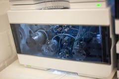 Λεπτομέρεια του χρωματογράφου HPLC Στοκ Φωτογραφίες