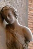 Λεπτομέρεια του dei Martiri Angeli ε degli της Σάντα Μαρία βασιλικών πυλών Στοκ Εικόνες
