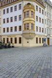 Λεπτομέρεια του Heinrich Schuetz Residenz στοκ εικόνα με δικαίωμα ελεύθερης χρήσης