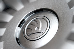 Λεπτομέρεια του hubcap hubcover Στοκ Εικόνα