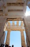 Λεπτομέρεια του Propylaea στοκ εικόνες με δικαίωμα ελεύθερης χρήσης