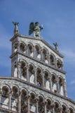 Λεπτομέρεια του SAN Michele σε Foro Lucca Στοκ εικόνα με δικαίωμα ελεύθερης χρήσης