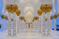 Λεπτομέρεια του Sheikh μουσουλμανικού τεμένους Zayed Στοκ φωτογραφία με δικαίωμα ελεύθερης χρήσης