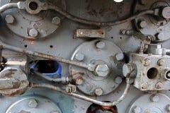 Λεπτομέρεια των βιομηχανικών συναρμολογήσεων Στοκ εικόνες με δικαίωμα ελεύθερης χρήσης