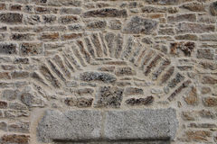 Λεπτομέρεια των βράχων και της τοιχοποιίας Στοκ εικόνες με δικαίωμα ελεύθερης χρήσης