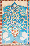 Λεπτομέρεια των διακοσμήσεων στο παλάτι Sheki Khans στοκ φωτογραφία με δικαίωμα ελεύθερης χρήσης