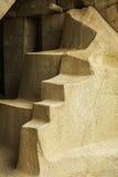 Λεπτομέρεια των καταστροφών σε Machu Picchu Στοκ Φωτογραφίες