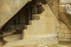 Λεπτομέρεια των καταστροφών σε Machu Picchu Στοκ φωτογραφία με δικαίωμα ελεύθερης χρήσης