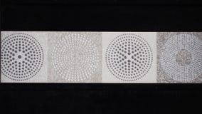 Λεπτομέρεια των παραδοσιακών κεραμιδιών από την πρόσοψη του παλαιού σπιτιού διακοσμητικά κεραμίδια Από τη Βαλένθια παραδοσιακά κε Στοκ εικόνες με δικαίωμα ελεύθερης χρήσης