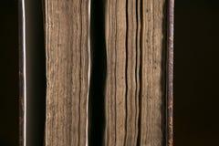 Λεπτομέρεια των παλαιών σελίδων βιβλίων Στοκ Εικόνες