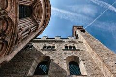 Λεπτομέρεια apse ενός καθεδρικού ναού Στοκ φωτογραφία με δικαίωμα ελεύθερης χρήσης
