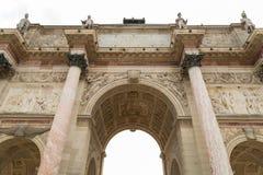 Λεπτομέρεια Arc de Triomphe Παρίσι Στοκ Εικόνα