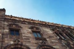 Λεπτομέρεια Architectual του ταχυδρομικού παλατιού ι Πόλη του Μεξικού Στοκ εικόνες με δικαίωμα ελεύθερης χρήσης