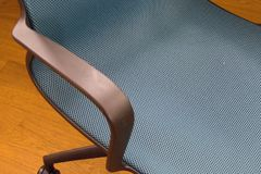 Λεπτομέρεια armrest μιας καρέκλας γραφείων Στοκ φωτογραφία με δικαίωμα ελεύθερης χρήσης