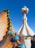 Λεπτομέρεια Casa Batllo Στοκ φωτογραφία με δικαίωμα ελεύθερης χρήσης
