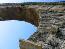 λεπτομέρεια du Gard pont Στοκ Φωτογραφίες