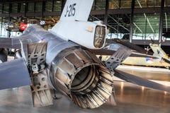 Λεπτομέρεια F-16 Στοκ φωτογραφία με δικαίωμα ελεύθερης χρήσης