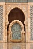 λεπτομέρεια Hassan ΙΙ της Κασαμπλάνκα μουσουλμανικό τέμενος Στοκ εικόνες με δικαίωμα ελεύθερης χρήσης