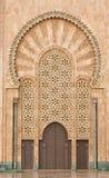 λεπτομέρεια Hassan ΙΙ της Κασαμπλάνκα μουσουλμανικό τέμενος Στοκ Εικόνες