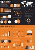λεπτομέρεια infographic Στοκ Εικόνες