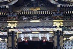 Λεπτομέρεια Nikko Ιαπωνία ναών Budist Στοκ Εικόνες