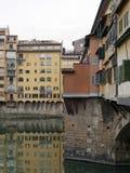 Λεπτομέρεια Ponte Vecchio Στοκ Εικόνες