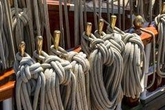 Λεπτομέρεια sailboat σκαφών στοκ φωτογραφίες με δικαίωμα ελεύθερης χρήσης