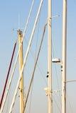 Λεπτομέρεια sailboat των ιστών Στοκ φωτογραφίες με δικαίωμα ελεύθερης χρήσης