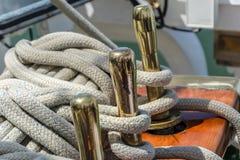 Λεπτομέρεια sailboat στοκ εικόνα με δικαίωμα ελεύθερης χρήσης