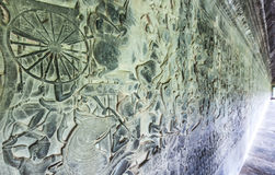 Λεπτομέρεια Wat Angkor Στοκ φωτογραφία με δικαίωμα ελεύθερης χρήσης