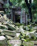 Λεπτομέρεια Wat Angkor Στοκ Εικόνα
