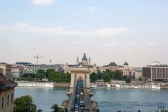 Λεπτομέρειες άποψης της ελευθερίας γέφυρα-Βουδαπέστη στοκ φωτογραφίες με δικαίωμα ελεύθερης χρήσης