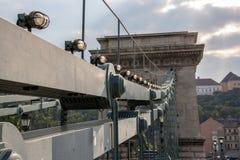 Λεπτομέρειες άποψης της ελευθερίας γέφυρα-Βουδαπέστη στοκ εικόνες με δικαίωμα ελεύθερης χρήσης