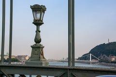 Λεπτομέρειες άποψης της ελευθερίας γέφυρα-Βουδαπέστη στοκ εικόνα με δικαίωμα ελεύθερης χρήσης
