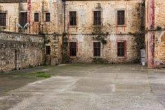 Λεπτομέρειες από μια ιστορική φυλακή Στοκ εικόνες με δικαίωμα ελεύθερης χρήσης