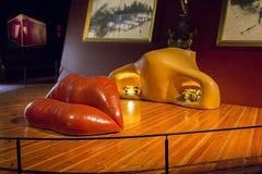 Λεπτομέρειες από το μουσείο του Salvador Dali σε Figueras Στοκ φωτογραφία με δικαίωμα ελεύθερης χρήσης
