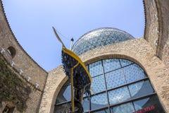 Λεπτομέρειες από το μουσείο του Salvador Dali σε Figueras Στοκ εικόνες με δικαίωμα ελεύθερης χρήσης