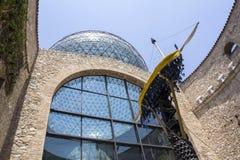 Λεπτομέρειες από το μουσείο του Salvador Dali σε Figueras Στοκ Εικόνα