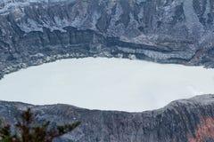 Λεπτομέρειες ηφαιστείων Poas Στοκ φωτογραφία με δικαίωμα ελεύθερης χρήσης