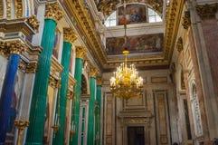 Λεπτομέρειες διακοσμήσεων στο εσωτερικό του ST Isaac Cathedral στη Αγία Πετρούπολη, Ρωσία Στοκ φωτογραφία με δικαίωμα ελεύθερης χρήσης