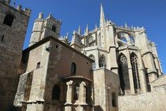 Λεπτομέρειες καθεδρικών ναών Narbonne Στοκ Φωτογραφίες