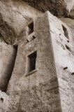 Λεπτομέρειες κατοικιών απότομων βράχων Στοκ φωτογραφία με δικαίωμα ελεύθερης χρήσης