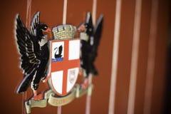 Λεπτομέρειες μέσα του καθεδρικού ναού Περθ, δυτική Αυστραλία του ST George ` s Στοκ φωτογραφία με δικαίωμα ελεύθερης χρήσης