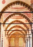 Λεπτομέρειες μουσουλμανικών τεμενών του Ahmed σουλτάνων στην Κωνσταντινούπολη, Τουρκία στοκ εικόνες