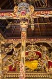 Λεπτομέρειες ναών Hinduist στο Μπαλί Ινδονησία Στοκ Εικόνες