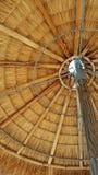 Λεπτομέρειες ομπρελών αχύρου Στοκ Εικόνες